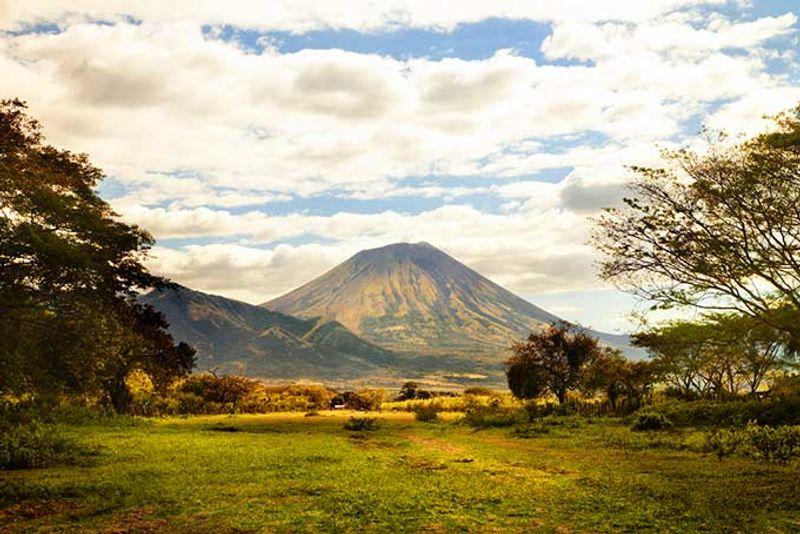Volcán concepción en Nicaragua
