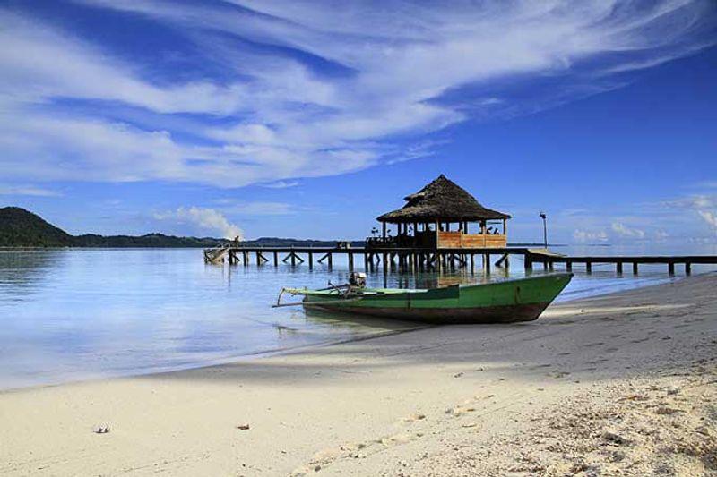 Ora Beach Resort, Indonesia