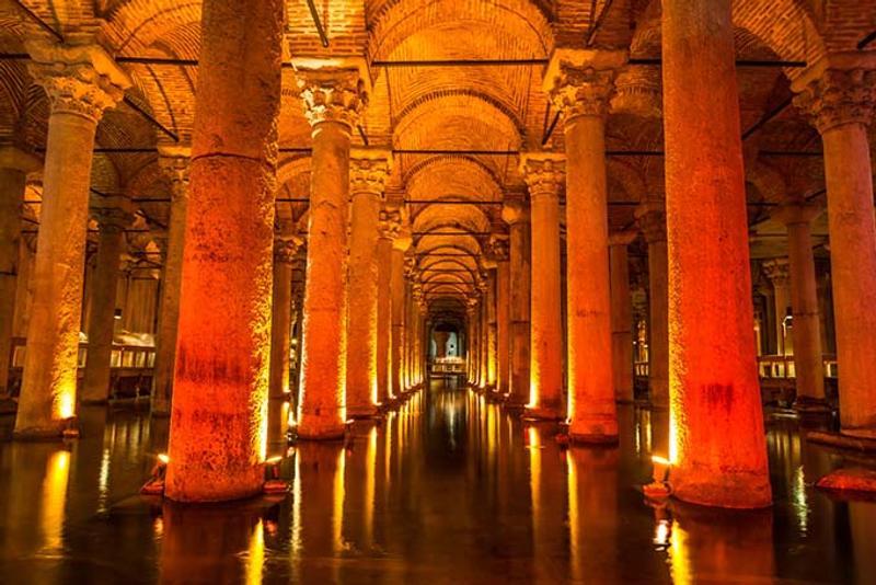 cisternas basílica estambul