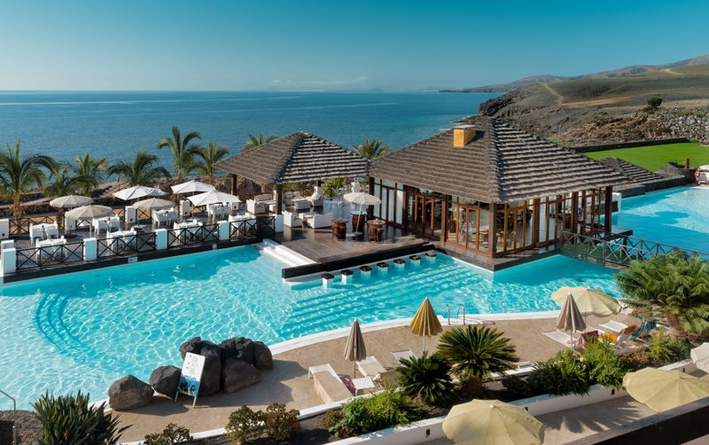 NH Hesperia Lanzarote is a luxury beachfront resort in the Canary Islands