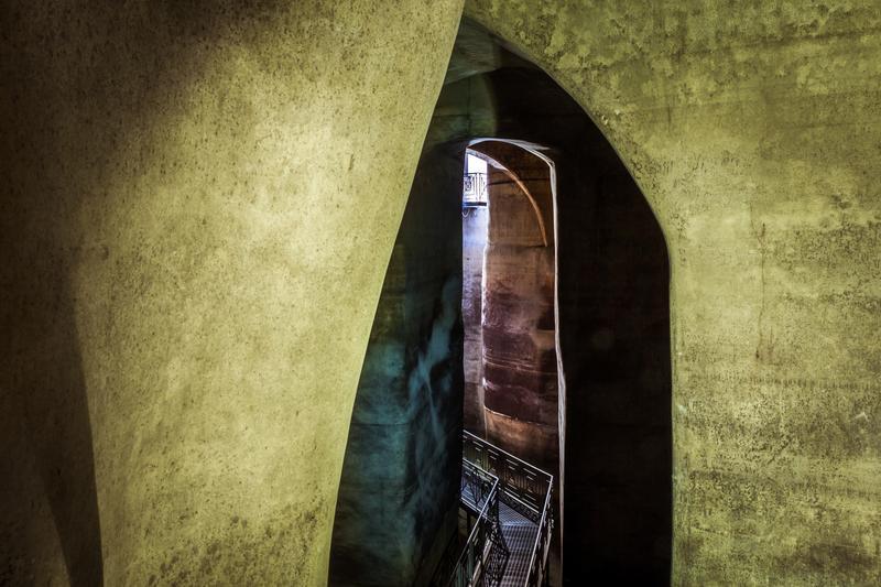 interno della cisterno di Palombaro lungo