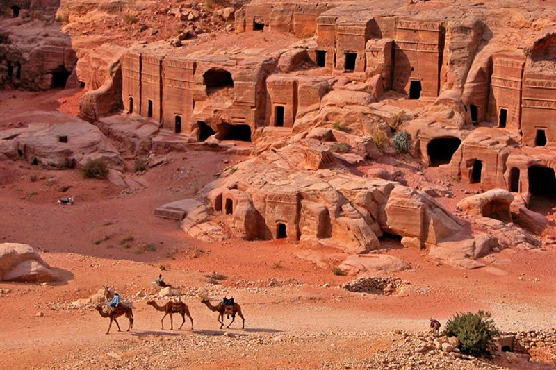Гробницы в Петре, Иордания