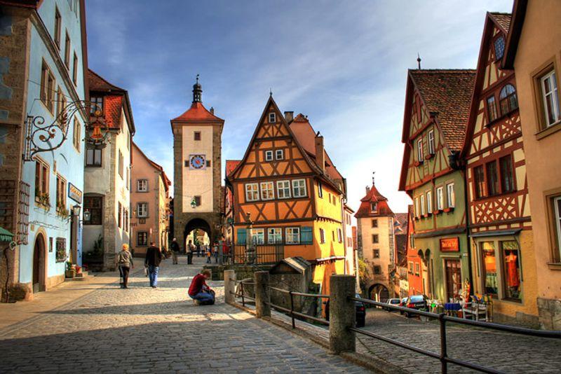 Road trip in Europa: Romantische Strasse