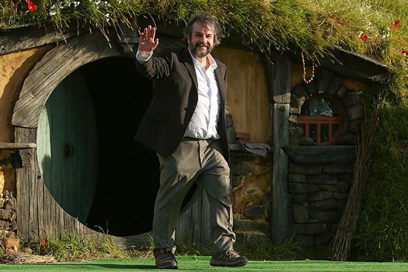 Питер Джексон и жилище хоббита в Новой Зеландии