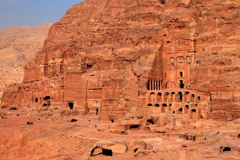 Royal Tombs at Petra