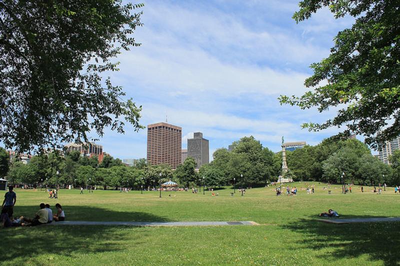 parque en boston