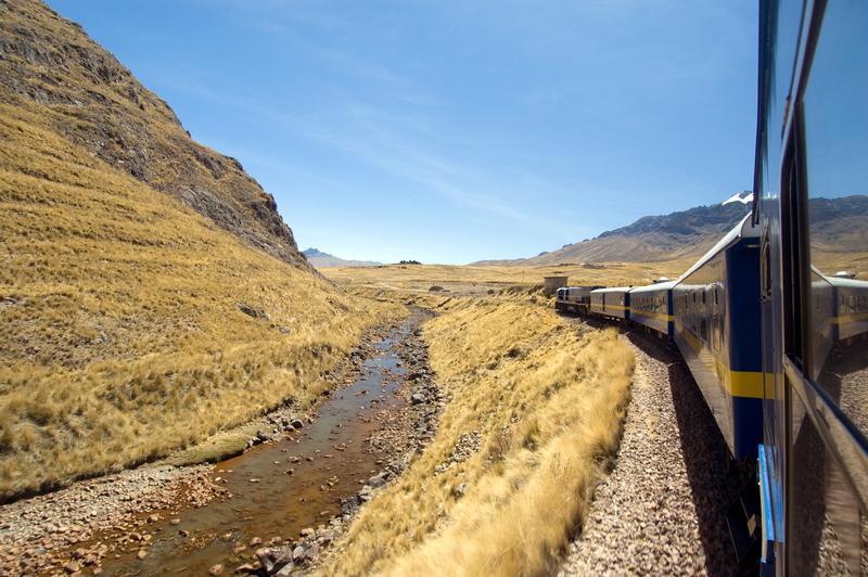 Percorso del Hiram Bingham Orient Express, da Cusco to Machu Picchu, Peru