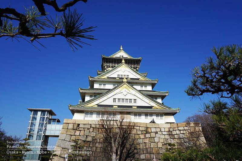 ปราสาทโอซาก้า โอซาก้า ประเทศญี่ปุ่น