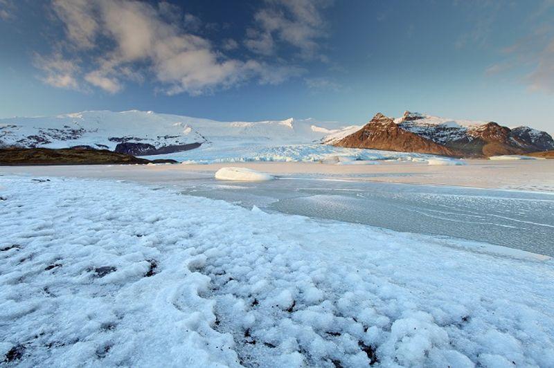 Vatnajokull Iceland