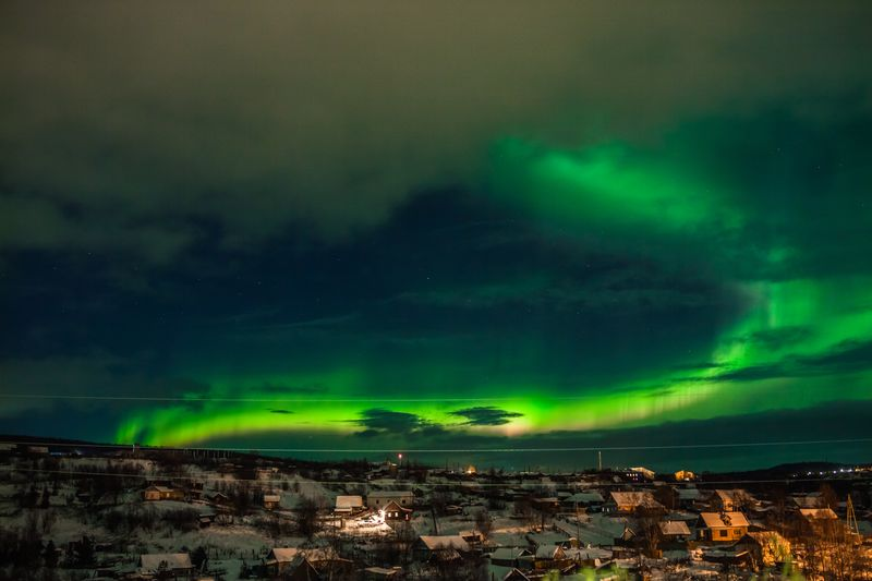Norwegen Aurora