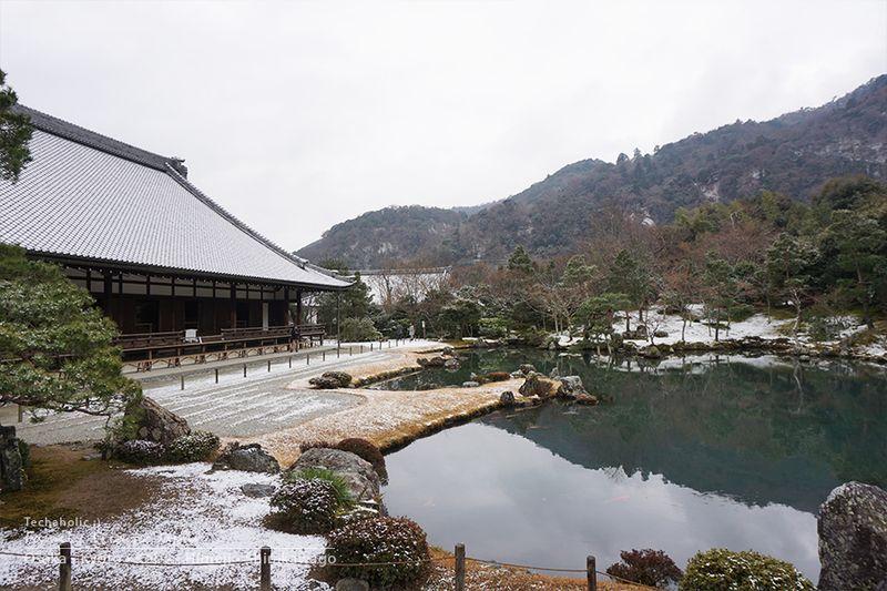 วัดเท็นเรียวจิ เกี่ยวโต ญี่ปุ่น