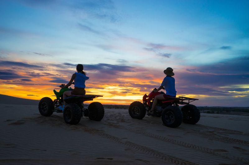 The fabulous White Sand Dunes in Mui Ne, Vietnam