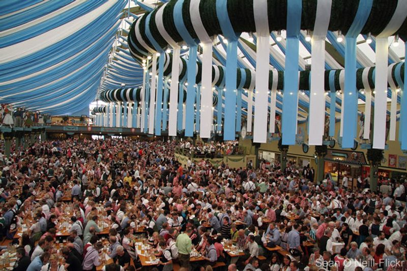 Best Things To Do In Germany - 10 best tents to visit at oktoberfest in munich