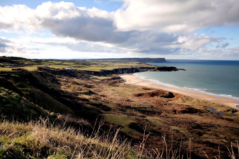 Overlooking White Park Bay & Portbradden