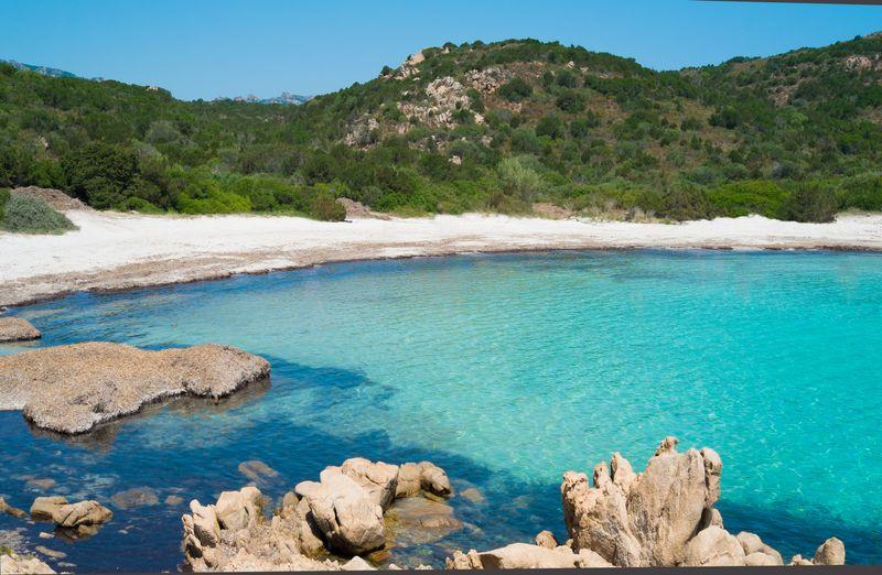 Der Strand des Prinzen, Sardinien