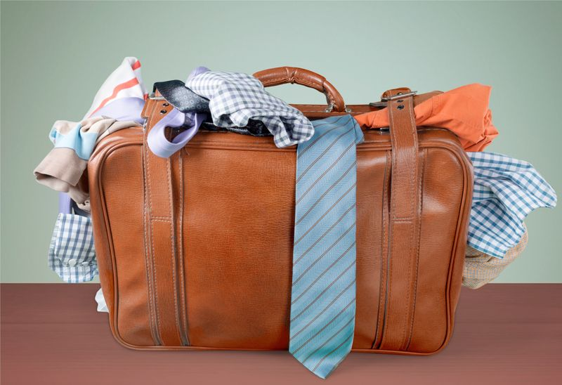 Pack light to avoid excess weight