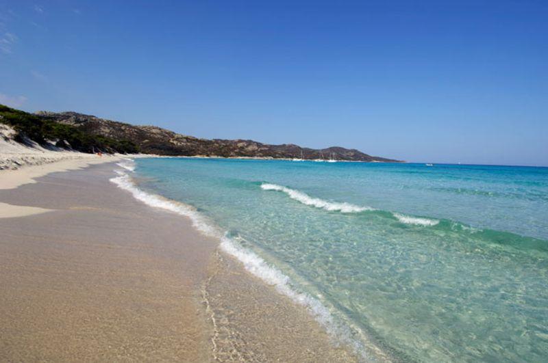 Playa de Saleccia, Córcega