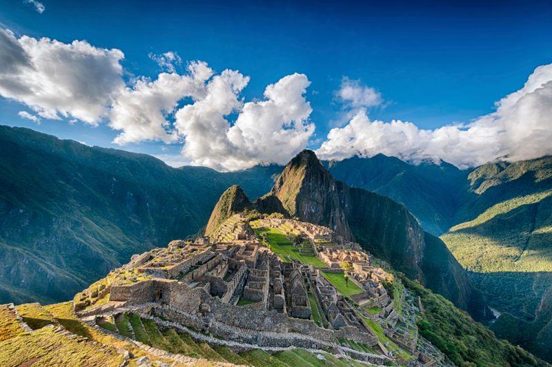 The majestic Machu Picchu