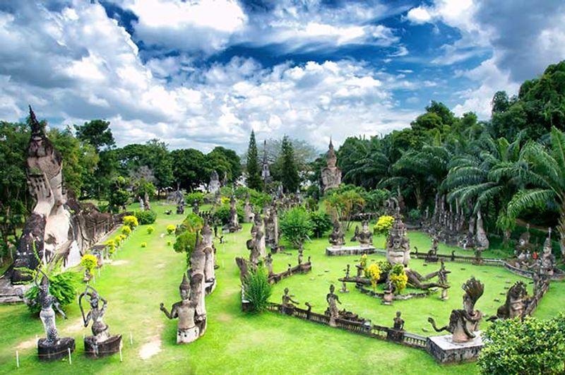 Paisaje de Laos