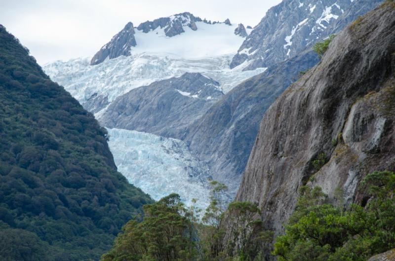 Il ghiacciaio Franz Josef