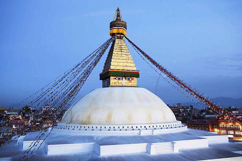 Ступа Боднатх в Катманду, Непал