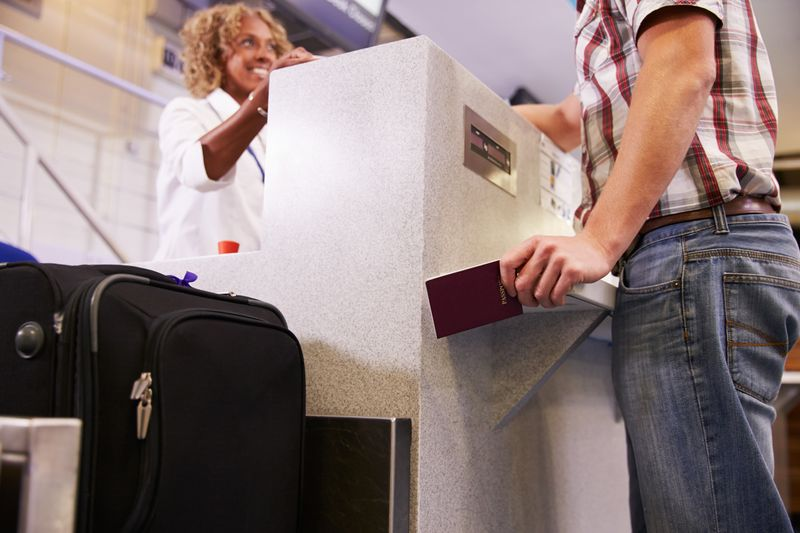 Check in with the luggage restrictions