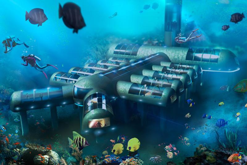 Planet Ocean Underwater Hotel Florida