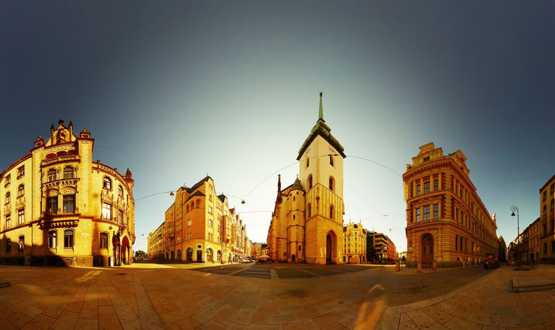 Η πόλη Μπρνο στην Τσεχία