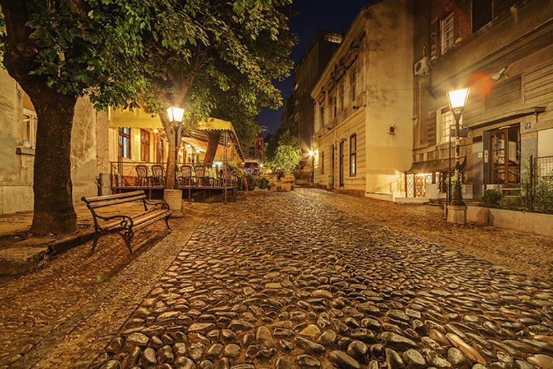 Улица в Белграде, Сербия