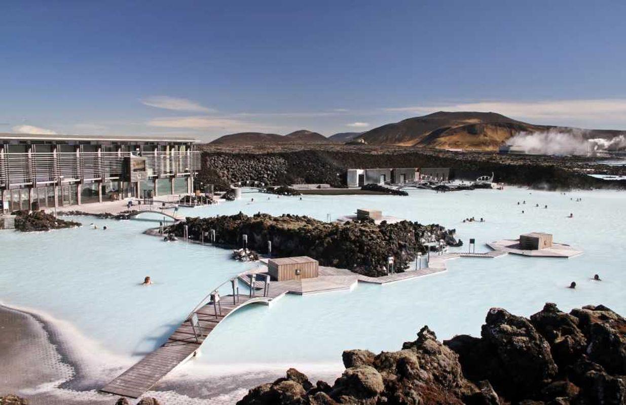 Спа «Голубая лагуна» в Исландии