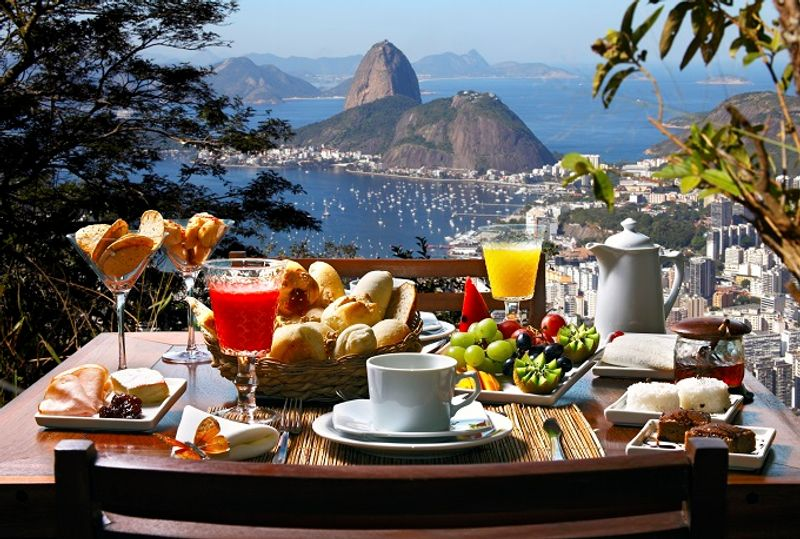 Breakfast with a view? Click the image to find a hotel in Rio.