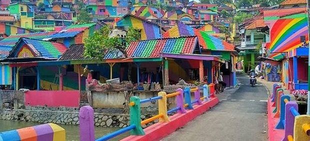 Rainbow Village: the Indonesian community that became an Instagram sensation