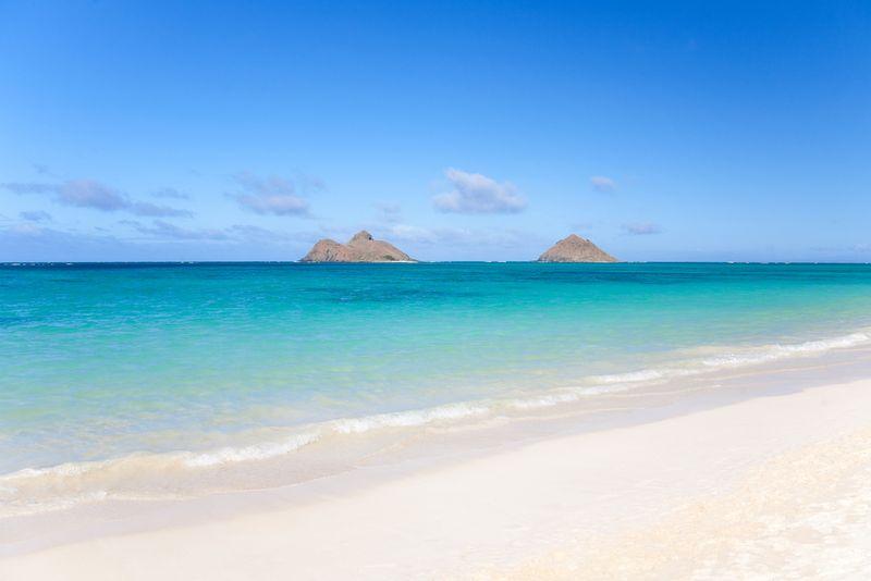 หาดลานิไก ฮาวาย (Lanikai Beach, Hawaii)