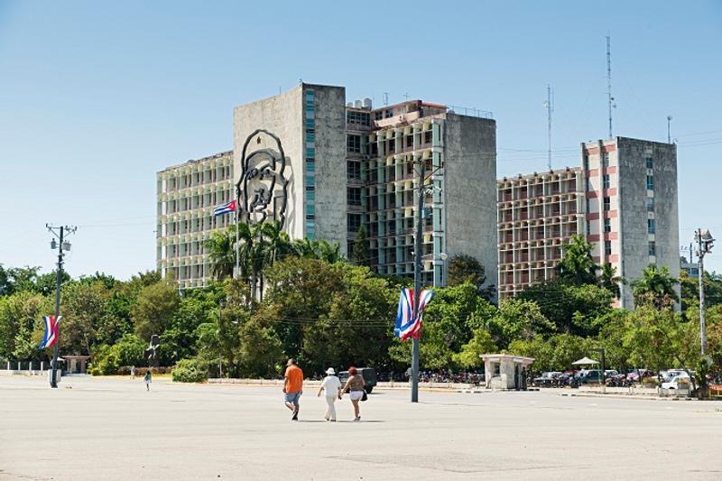 Plaza de la revolución Cuba La Habana