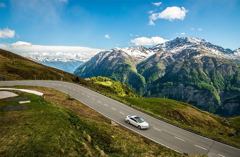 Горная дорога в Австрии