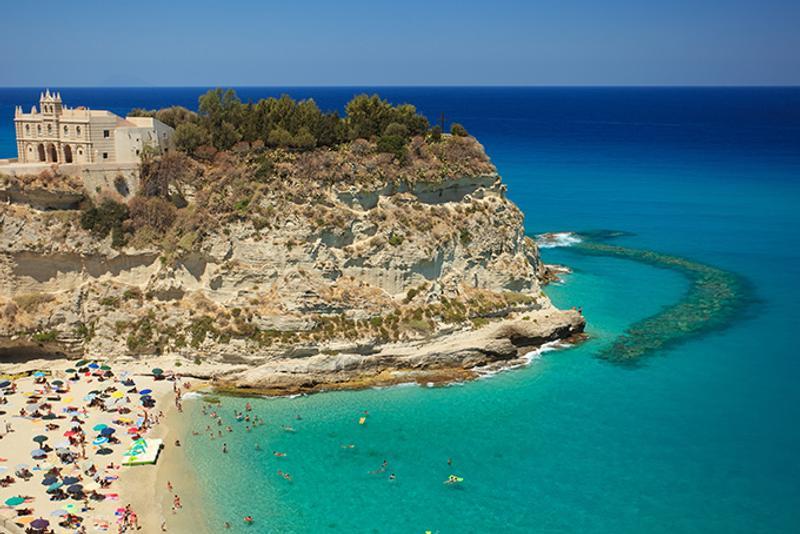 Пляжи Италии: Пляж Марина дель Исола (Marina dell'Isola)