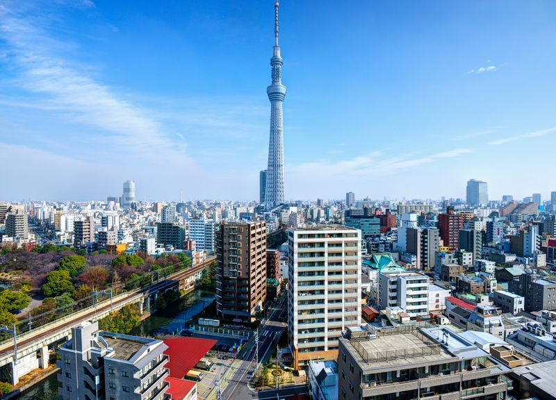Japan city view