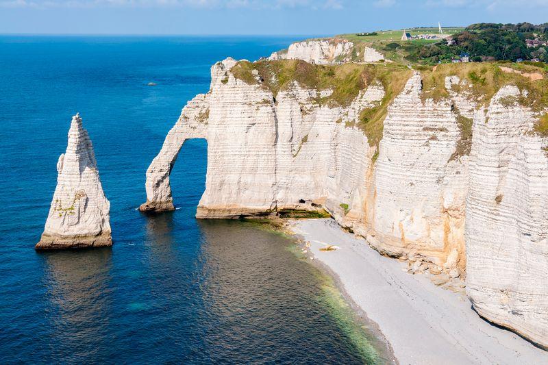 Alabasterküste in Frankreich