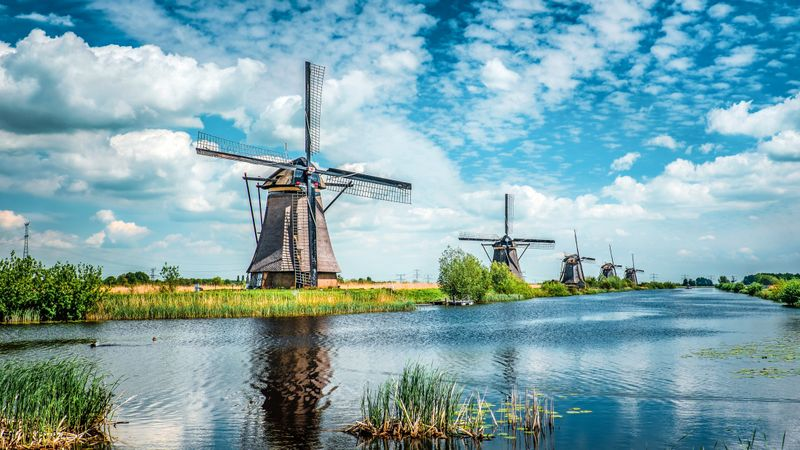Młyny Kinderdijk