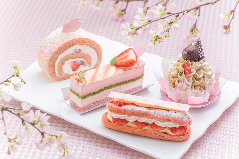 芝櫻主題甜點