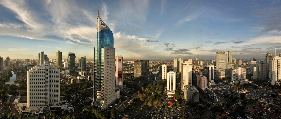 Skyline de Yakarta
