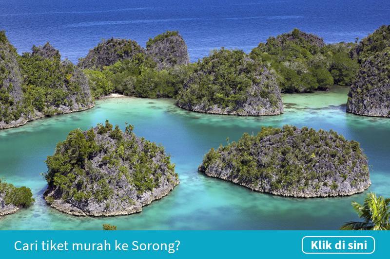 Klik untuk cari tiket pesawat murah ke Sorong