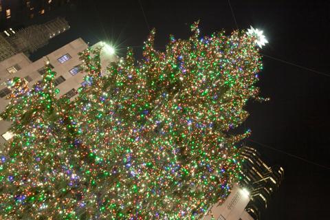 árbol de navidad del rockefeller center