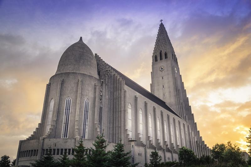 Церковь Хадльгримскиркья в Рейкьявике, Исландия