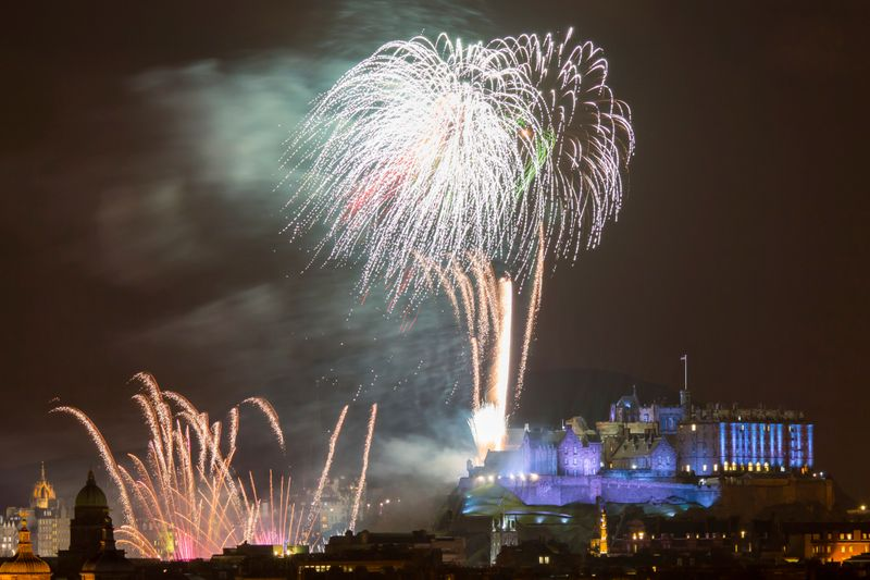 Silvester in Edinburgh
