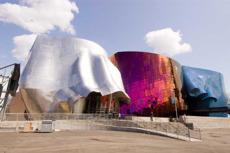 Музей современной поп-культуры в Сиэтле, США