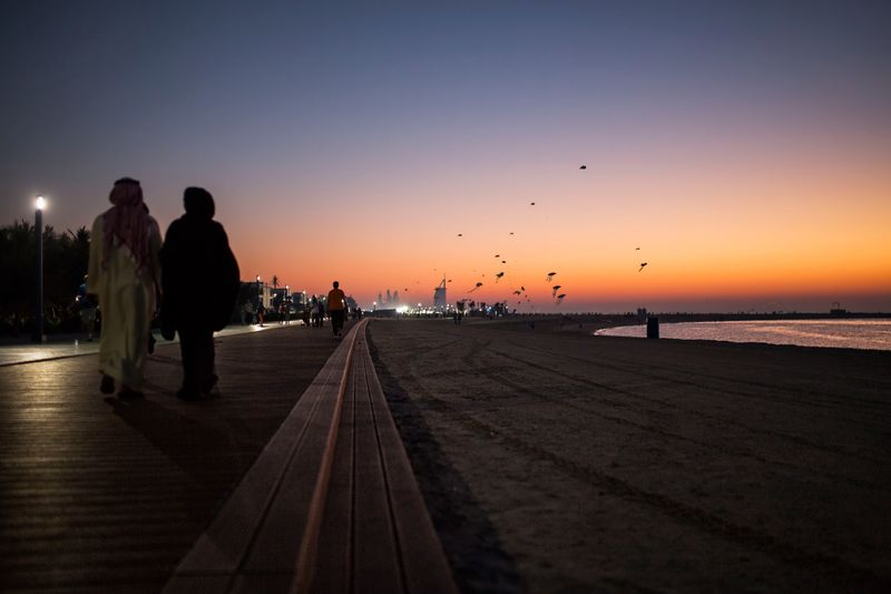 Пляж Kite Beach в Дубае