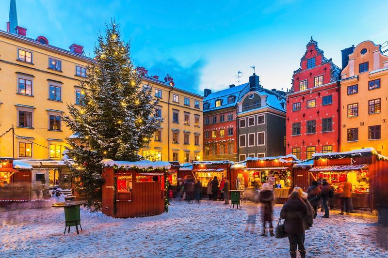 Mercatini di Natale più belli d'Europa: Svezia, mercatini a Stoccolma