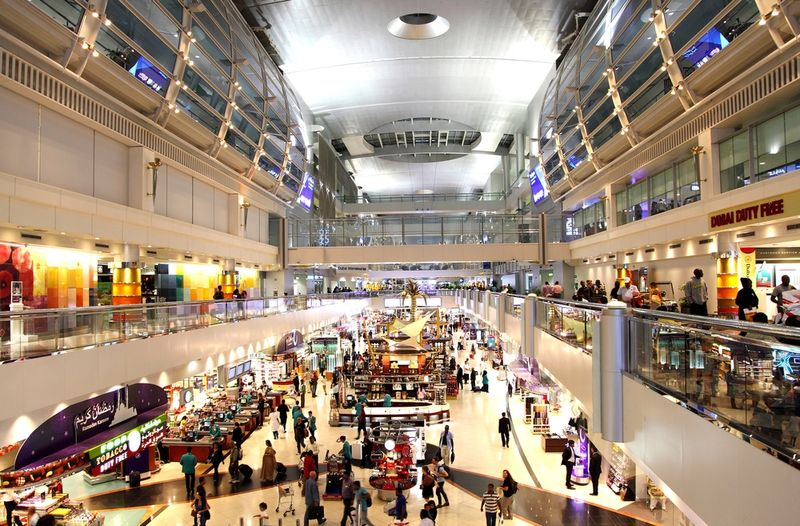 Dubai Airport 5 things to do while on transit