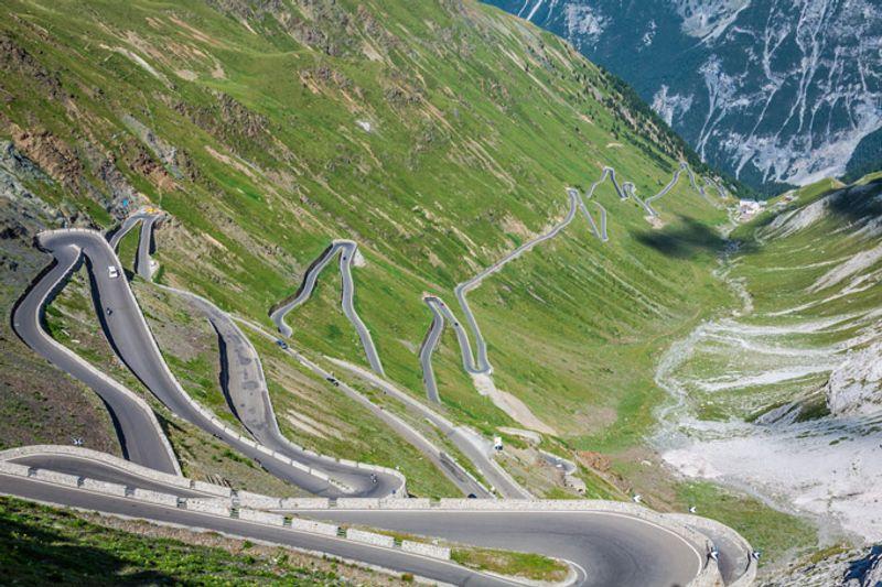 Road trip in Europa: Passo dello Stelvio
